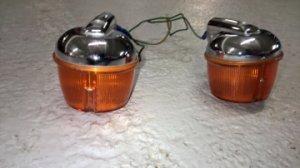 1 paire de clignotants pour moto de Marque MALY  N° 858  VENDUS