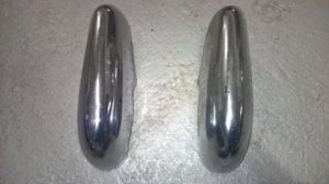 2 Bananes de pare-chocs avant droit et gauche pour Jaguar MK 7,8,9 VENDUES