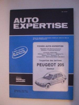 AUTO EXPERTISE N°104            PEUGEOT 205 Essence  (1983)