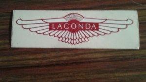 Autocollant  LAGONDA