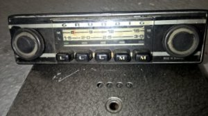 Autoradio GRUNDIG  (PO-GO)    12 volt