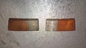 Cabochon de clignotant avant pour Renault 5 (coté droit et gauche)