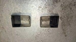 Cabochons de feu de recul et éclairage de plaque minéralogique pour Renault 5 VENDU