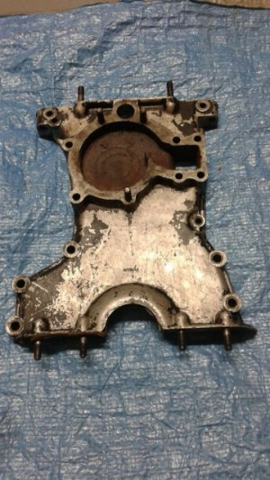 Timing cover for JAGUAR engine