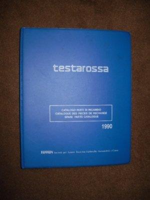 Catalogue de pièces de rechange pour TESTAROSSA