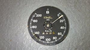 Compteur de vitesse incomplet en kilométres/heure pour BENTLEY