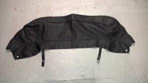 Couvre capote en vinyl noire pour Jaguar type E