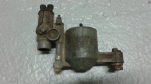 Cuve de carburateur avec solénoïde de starter pour JAGUAR XK 120