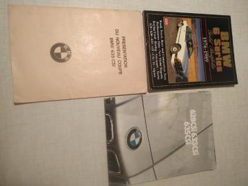 Documentation sur la BMW 635 CSi