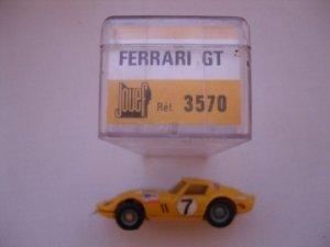 FERRARI 250 GTO  de Marque JOUEF au 1/43