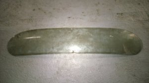 Glass for backlight for JAGUAR MK 7,8,9