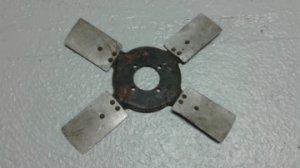 Hélice de refroidissement à 4 pales pour moteur JAGUAR