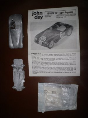 JAGUAR TYPE C 1951/53 au 1/43°