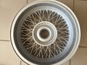 2  BORRANI WIRE WHEELS 16 X 5 1/2  K-RECORD