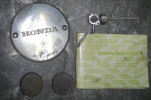 Lot de pièces  pour Honda 125 Twin
