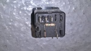 Set of several switches for Peugeot 205 + various parts