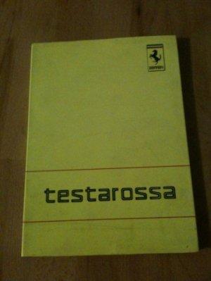 Notice d'entretien d'origine pour FERRARI TESTAROSSA