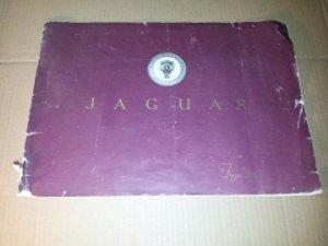 Notice publicitaire d'origine et d'époque pour JAGUAR  XK 100 XK 120