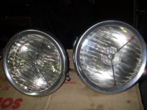 Paire de phares tripode Lucas P 80 VENDU