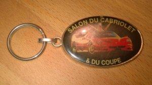 Porte-clefs Salon du Cabriolet et du Coupé (année 1998)