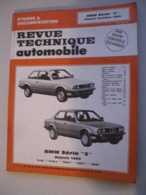 Revue Technique Automobile pour BMW  SERIE 3 depuis 1983   316, 318, 320, 323, 325 VENDU
