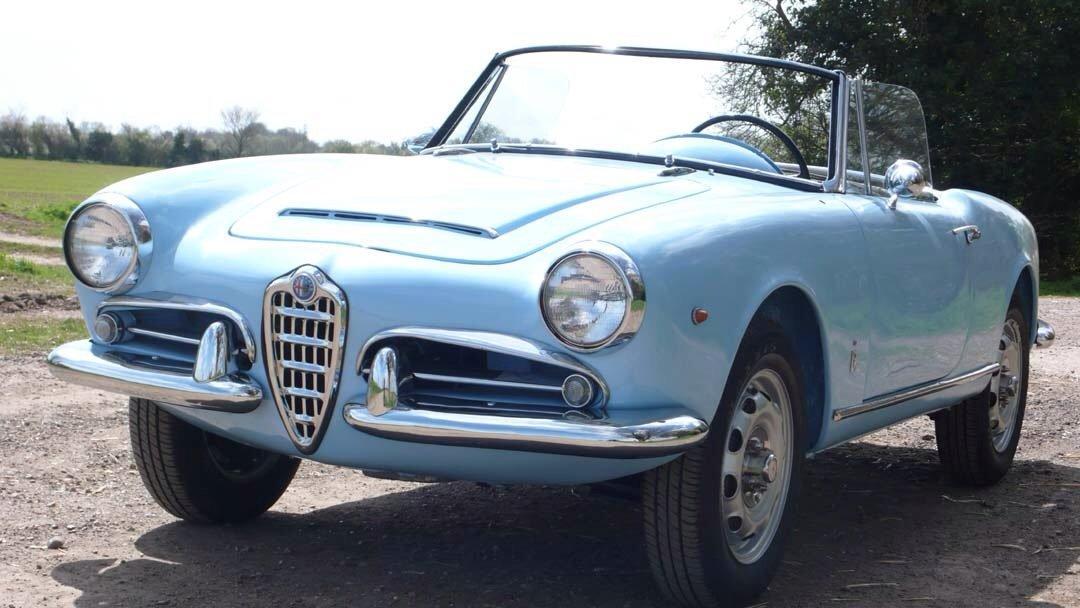 For Sale Alfa Romeo Giulia Spider 1600 Marseille