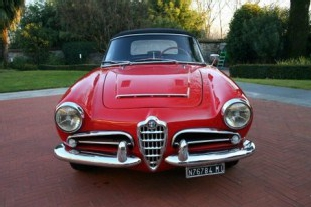 Alfa Giulia Spider Veloce 1964