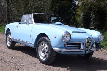 Alfa Romeo Giulia Spider 1600 1962