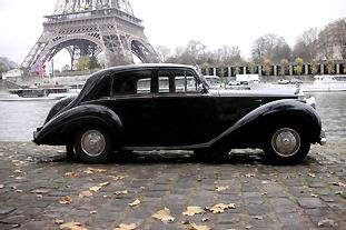Silver Dawn Rolls Royce 1952